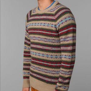 Brand New - O'Hanlon Mills Fair Isle Sweater